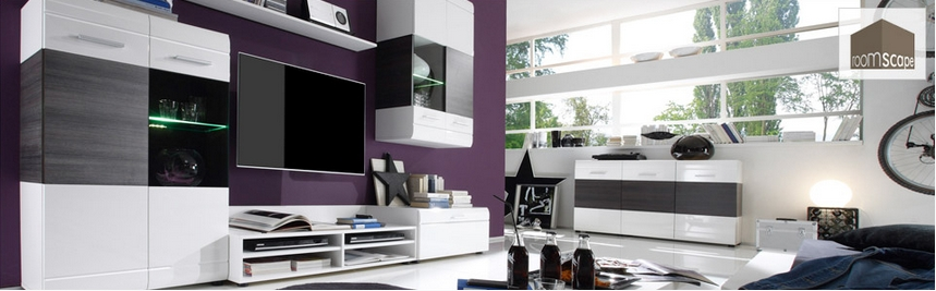 roomscape m bel outlet einrichtung g nstig kaufen. Black Bedroom Furniture Sets. Home Design Ideas
